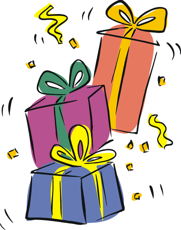 Free gift cliparts download. Gifts clipart birthday present clip art library library