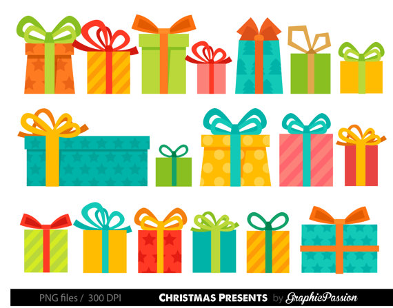 Presents christmas clip art. Gifts clipart birthday present picture royalty free stock