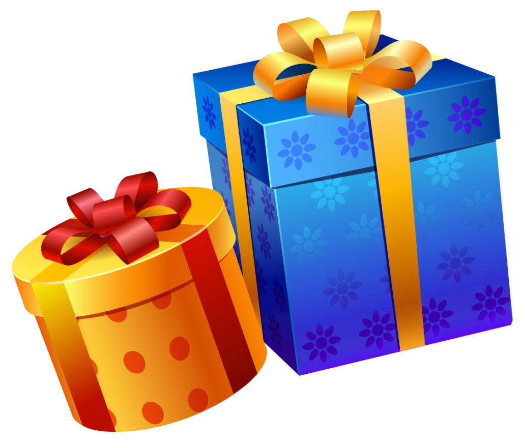 images free graphics. Gifts clipart birthday present png library download