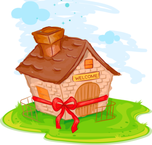 Gift clipart house png. Warming ideas
