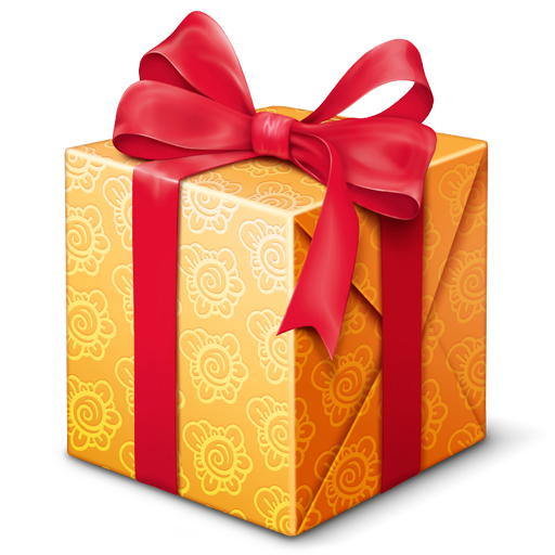 Gifts clipart prize. Gift present icon others