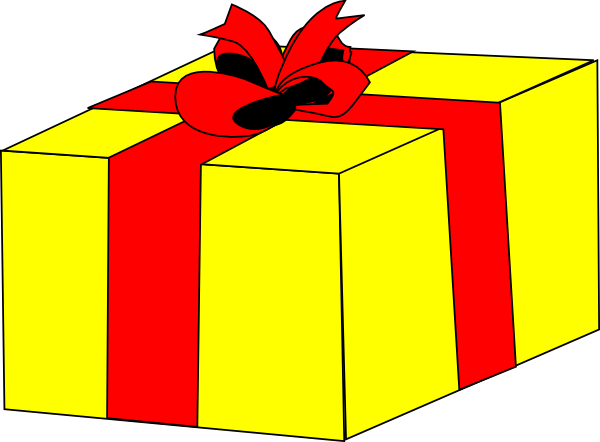 Winner clipart gift. Free christmas gifts download
