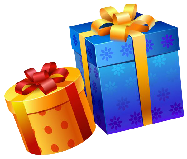 Transparent present birthday. Png images free download