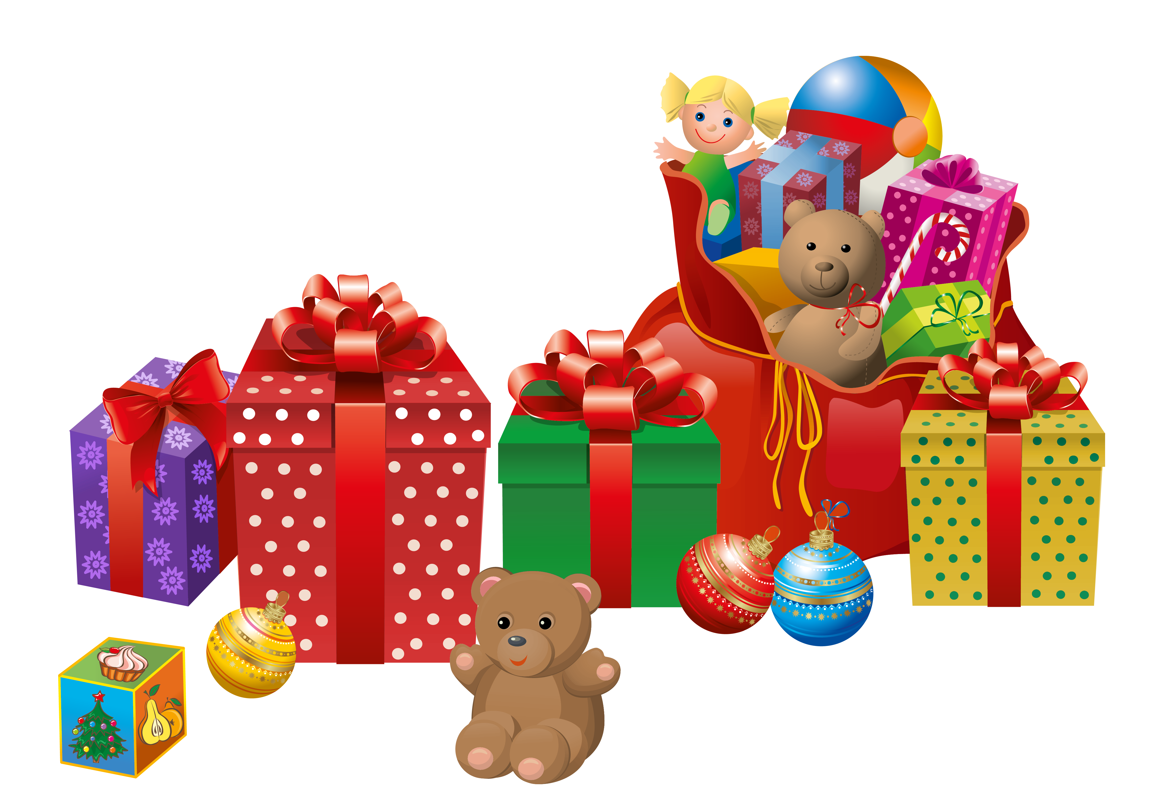 Christmas presents png. Transparent clipart gallery yopriceville
