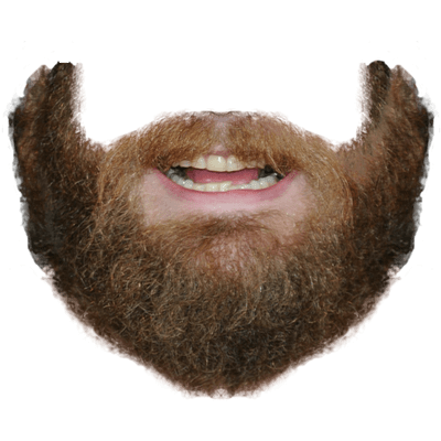 Ginger beard png. Moustache transparent stickpng and