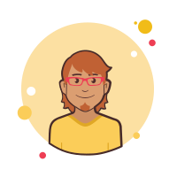 Ginger vector sketch. Man question mark icon