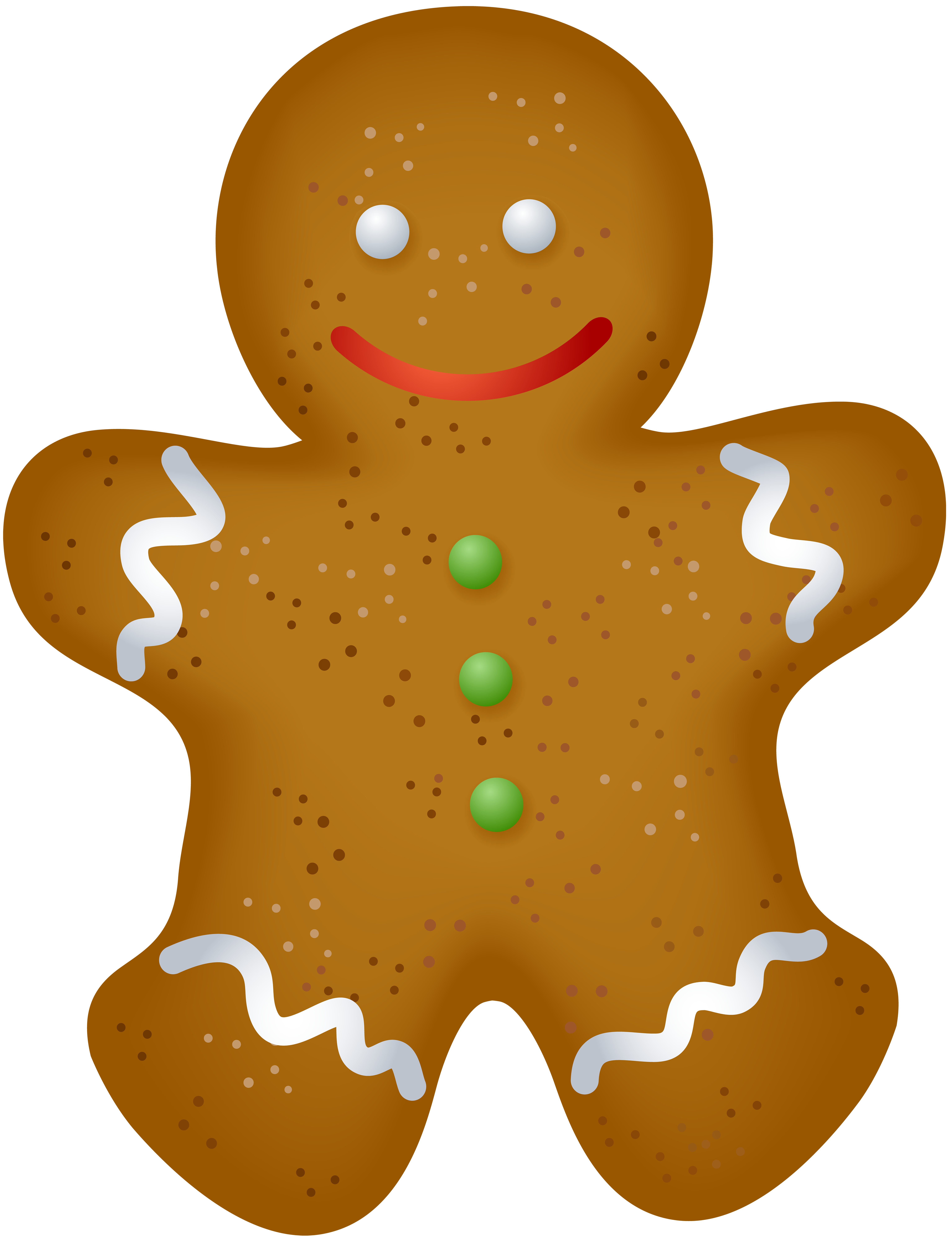 Cookie clipart gingerbread. Christmas png clip art