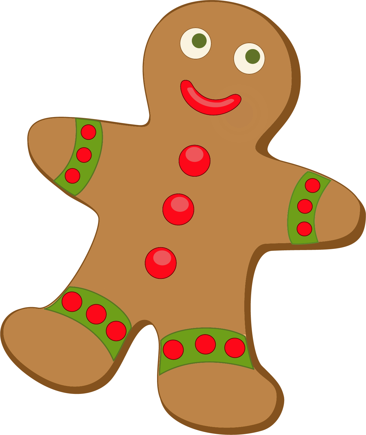Christmas . Dojo clipart gingerbread clip art transparent stock