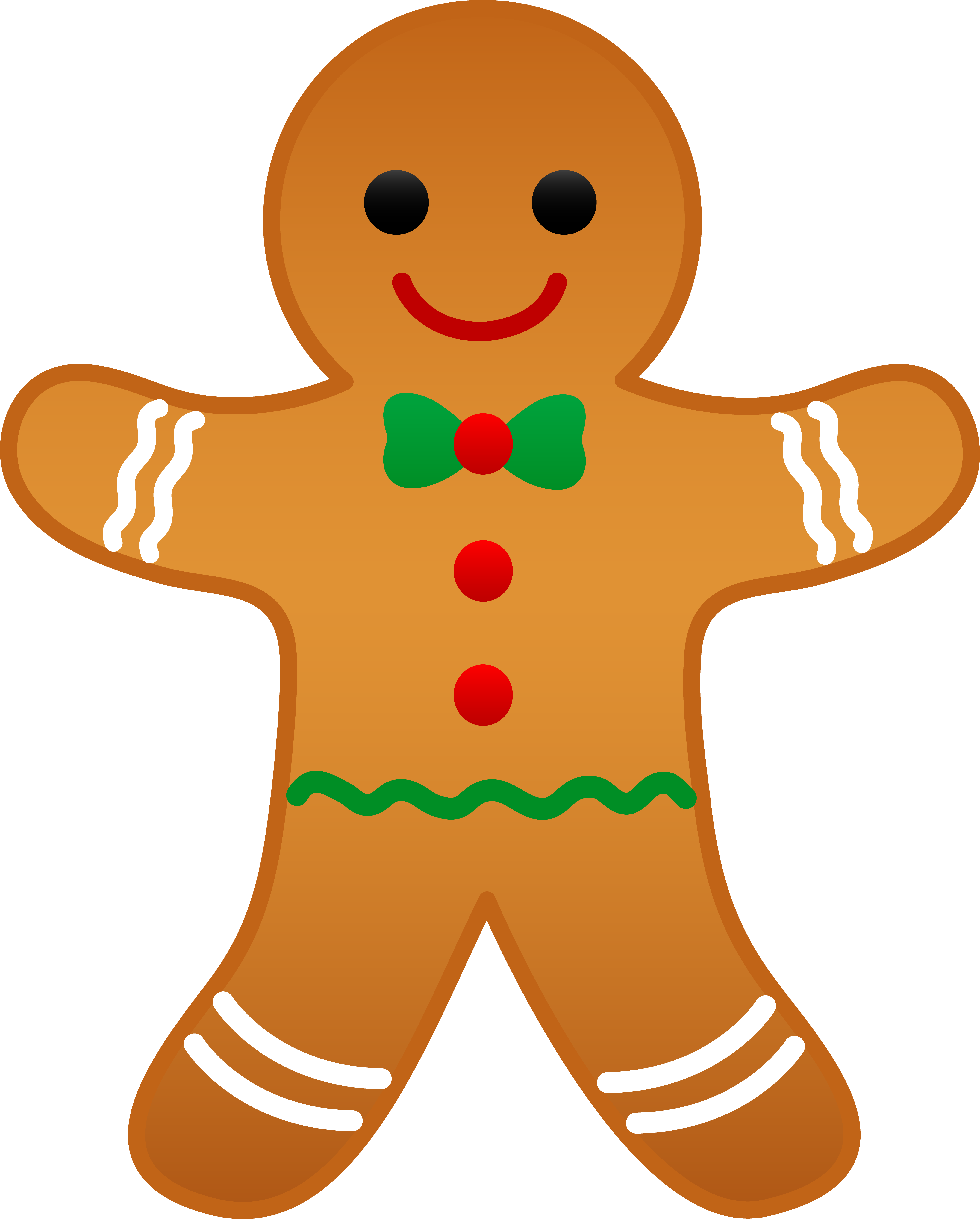 gingerbread svg traditional