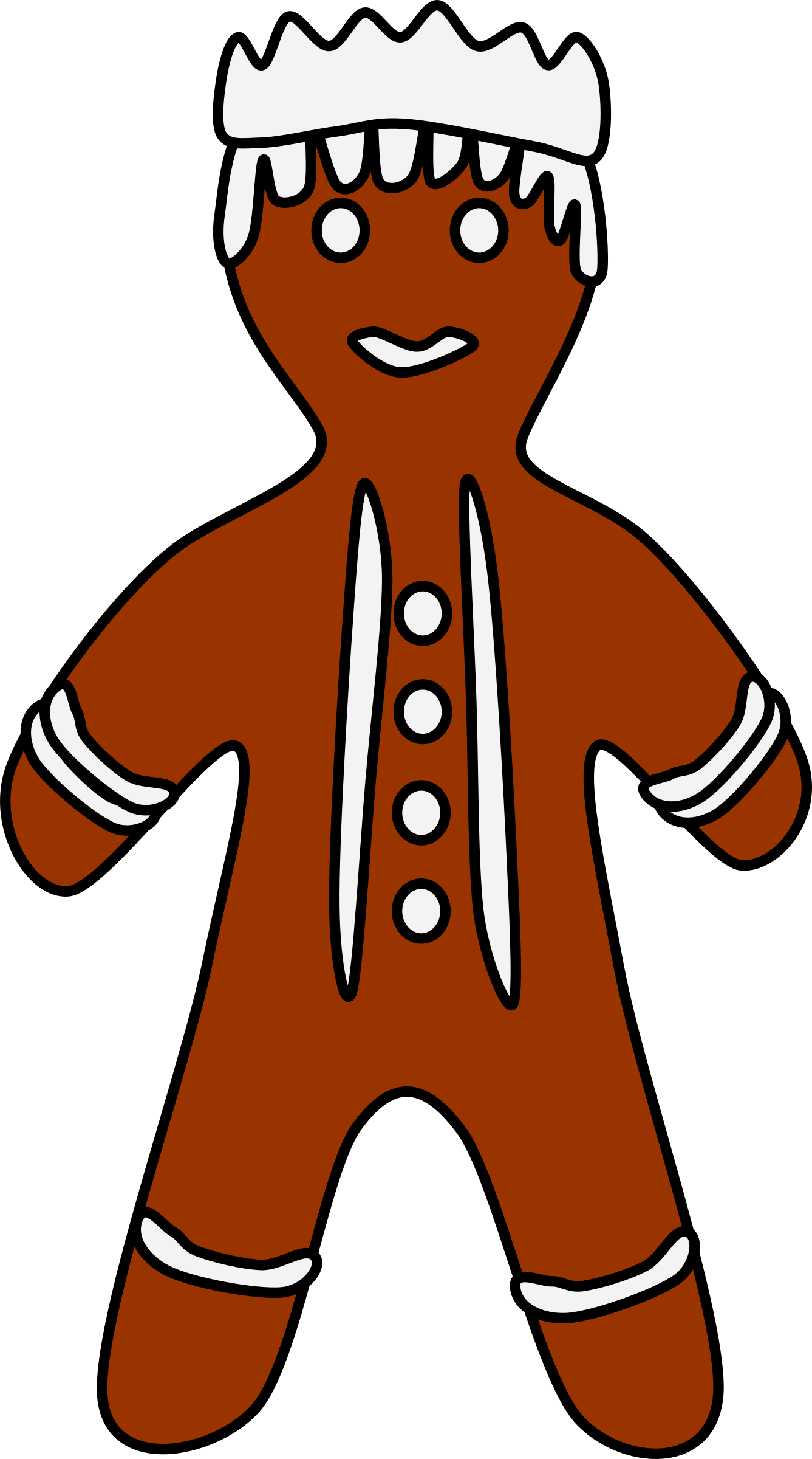 Gingerbread clipart big. King wiseman image png