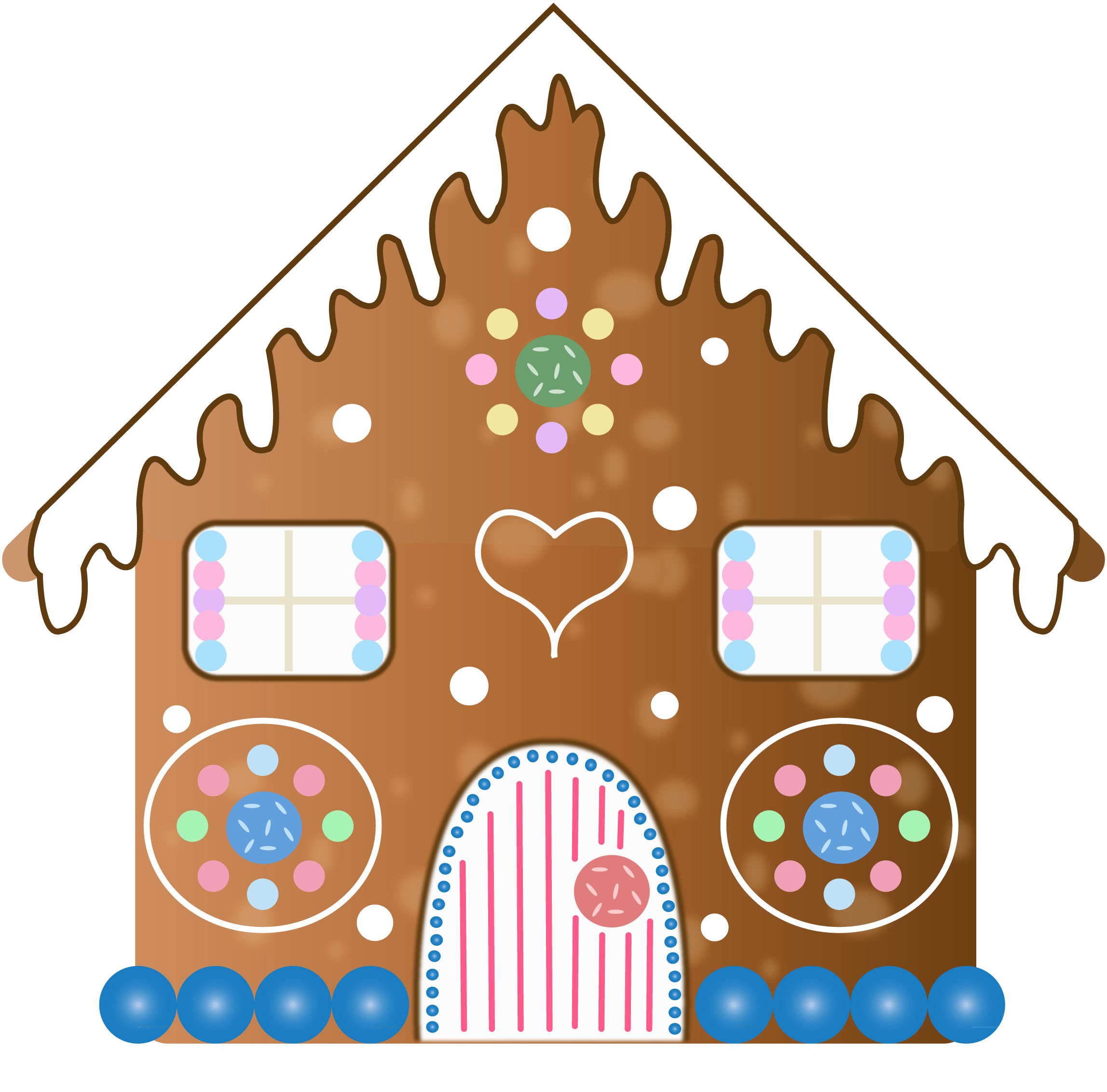 Gingerbread clipart gingerbread house. At getdrawings com free