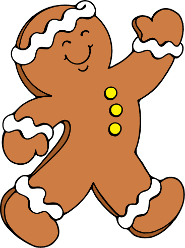 drawing candy gingerbread man