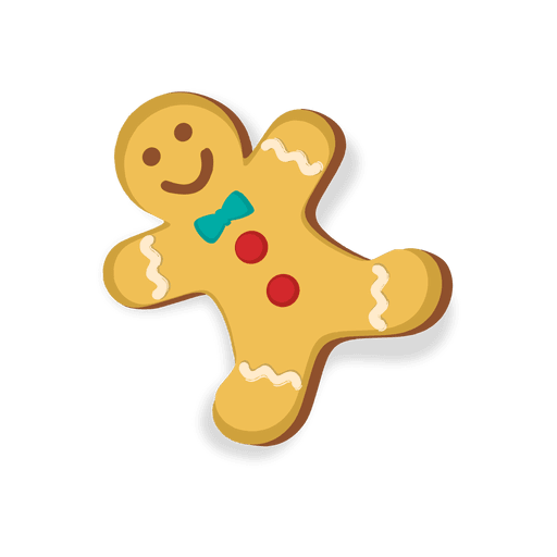 Gingerbread man gangster vector png. Happy cookie transparent svg