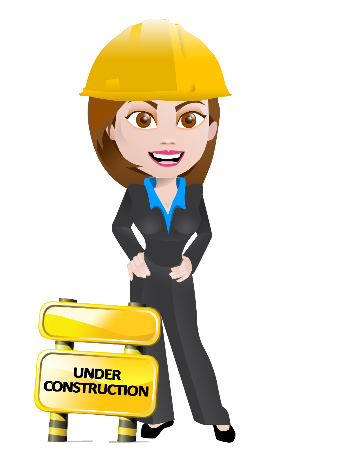 Girl clipart construction. Free women cliparts download