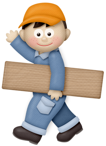 Girl clipart construction. Handy helper workers electricians
