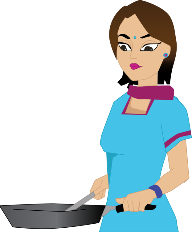 Girl clipart cooking. Chef woman stock food