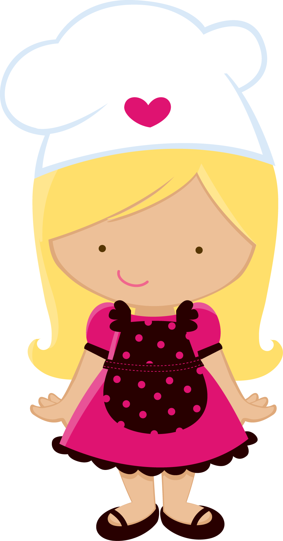 Girl clipart cooking. Pin by tina loveday