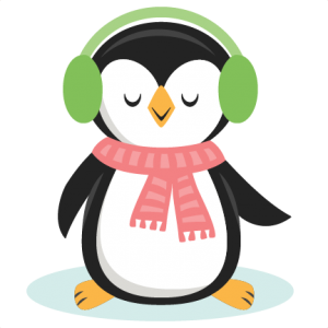 Penguin clipart silhouette. Girl available for free