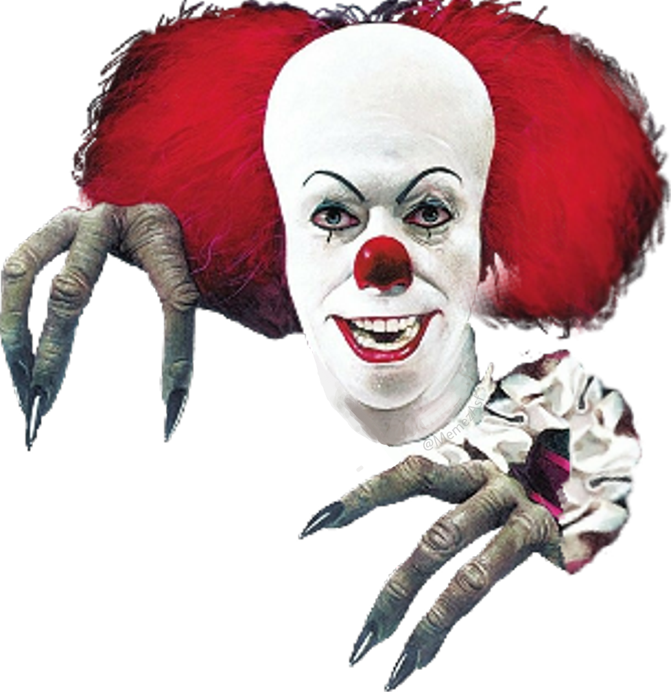 Girl clown png. Pennywise it itmovie evil