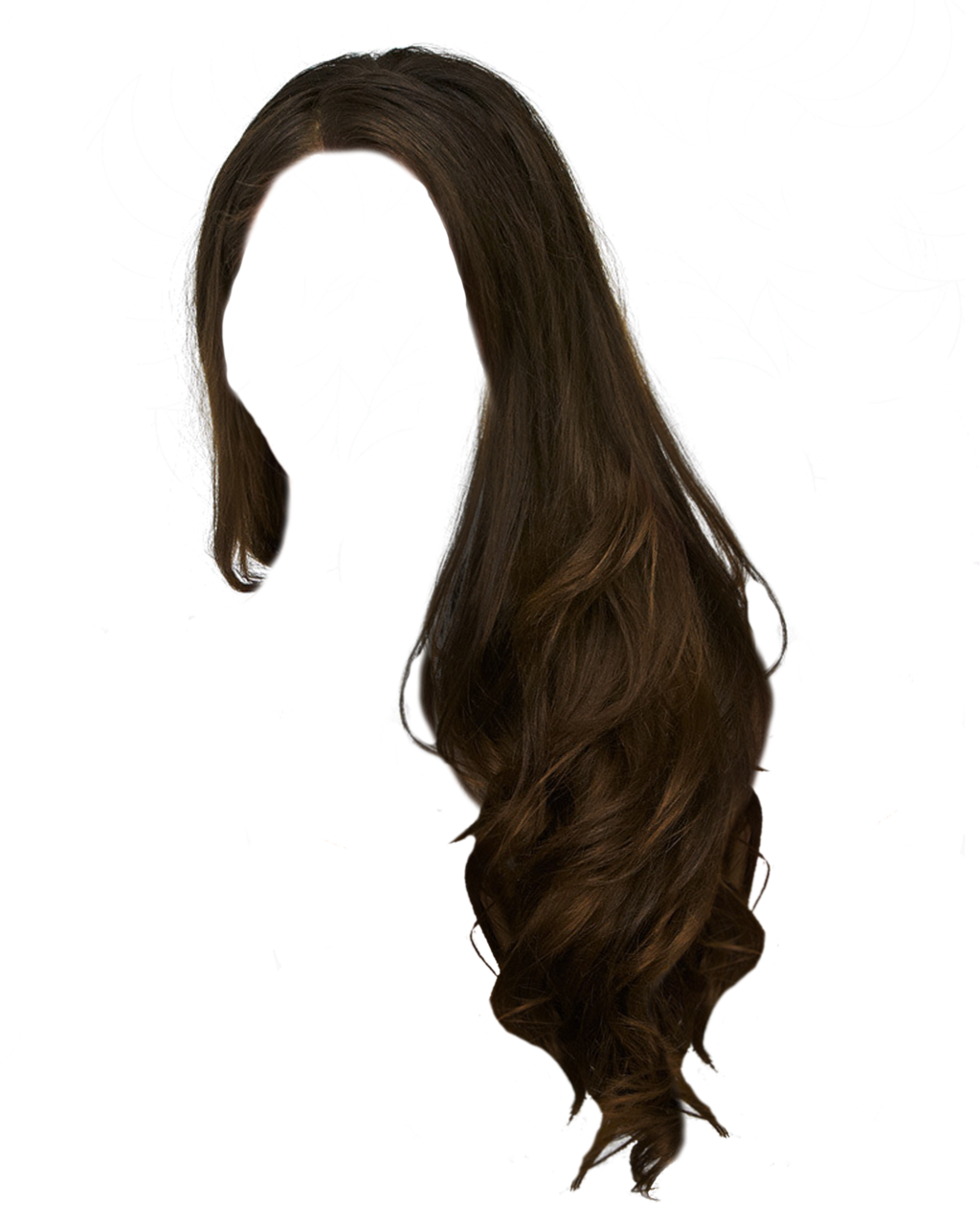Girls transparent hair. Girl png free icons