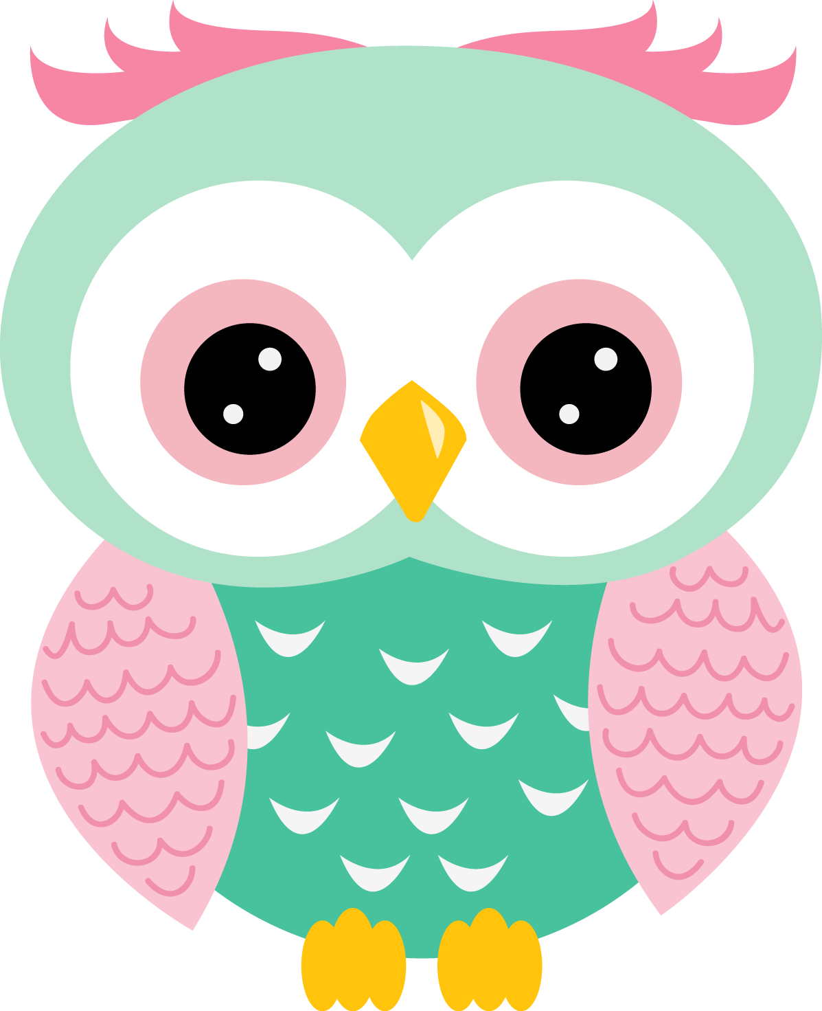Girl owl png. Kit de anivers rio