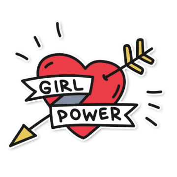 Girl power png.