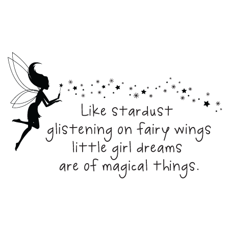 Girl quotes png. Little dreams stardust wall