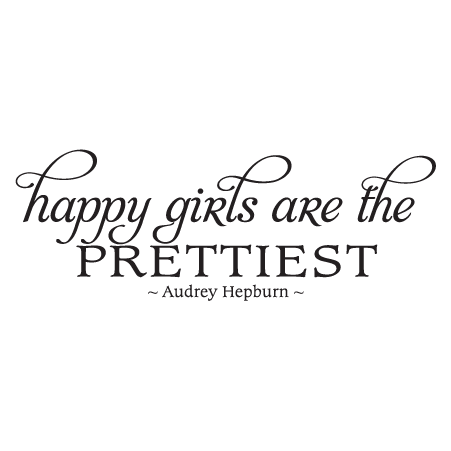 Girl quotes png. Happy girls fancy wall