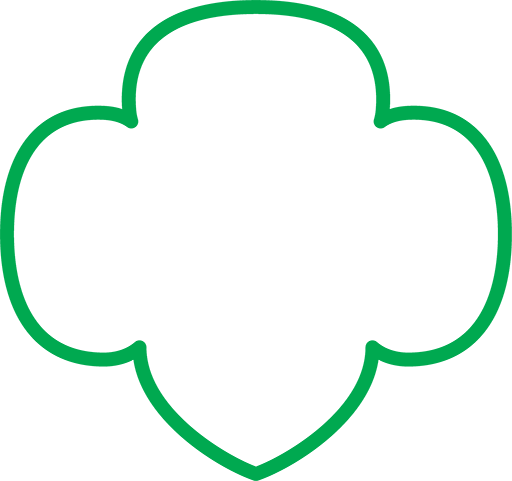 Girl scout trefoil png. This gs was used