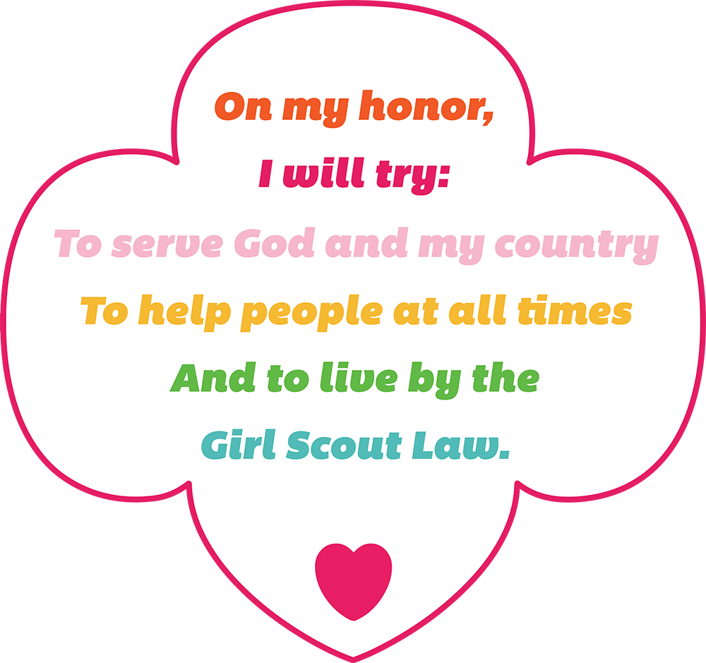 Girl scout trefoil png. I am scouts resources