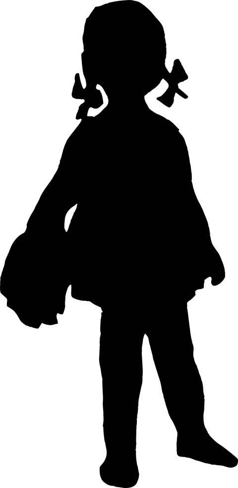 Girl silhouette png. Free images toppng transparent