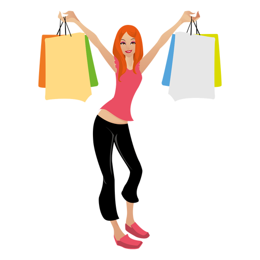 Girls transparent shopping. Png images pluspng blonde