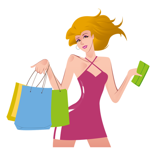 Girls clip shopping. Png transparent images pluspng