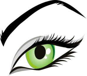 Girls clipart eye. Eyes png images free
