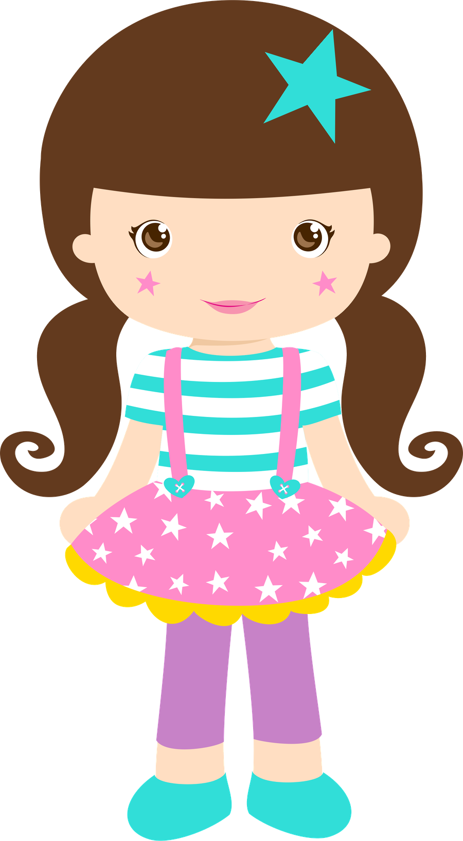Girly clipart circus. Minus say hello invi