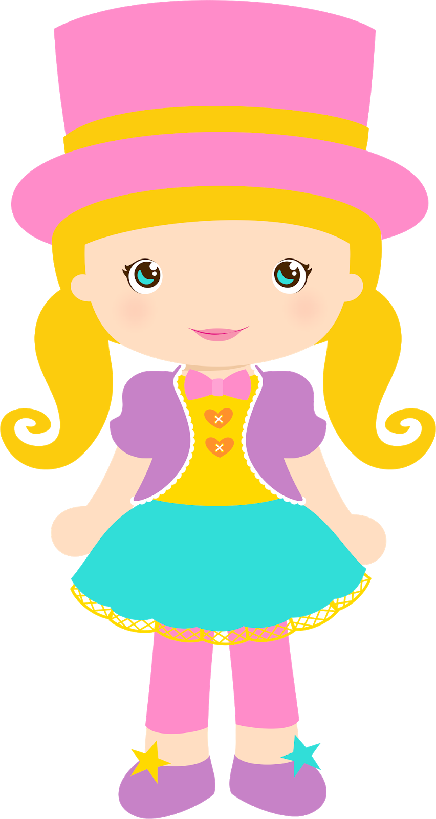 Girly clipart circus. Clown girls png p