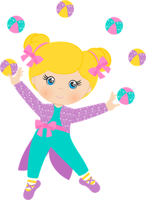 Girly clipart circus. P minus pinteres ms