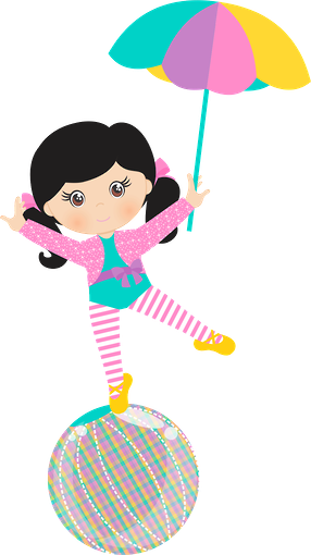 Girly clipart circus. P minus clip arts