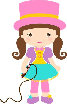 Girly clipart circus. Best circo images