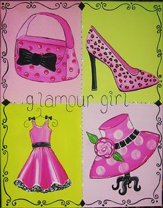 Girly clipart girly stuff. Pinterest