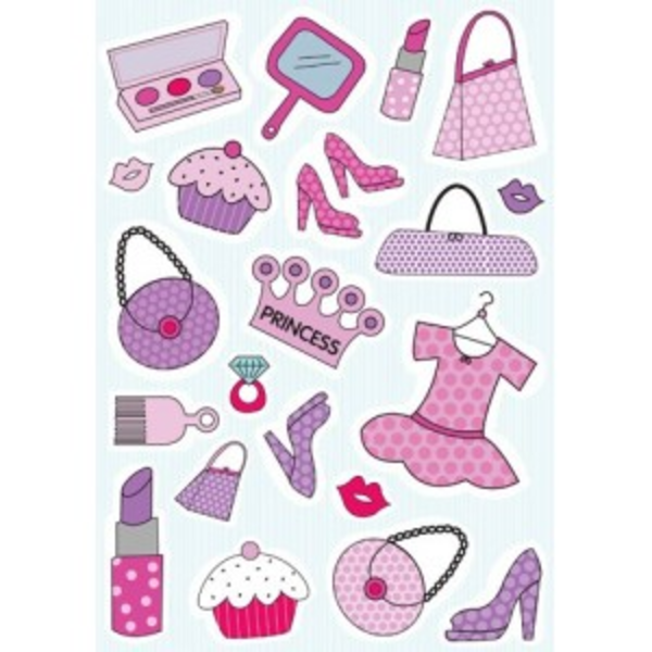 Girly clipart girly stuff. Stickers things free images