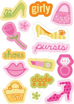 Girly clipart girly stuff. Pinterest scrapbook and