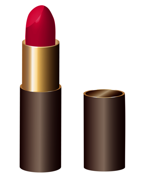 Lipstick clipart girly. Red comestic pinterest clip