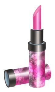 Lipstick clipart girly. K tainted cupcake png