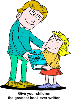 Give clipart. Image man giving girl