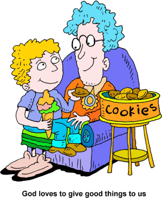 Cookie clipart boy. Image god loves giving
