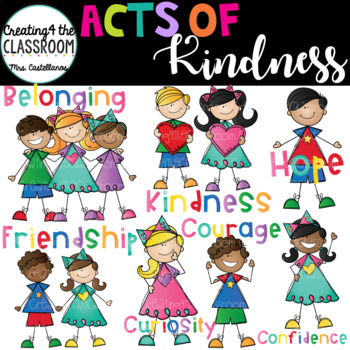 Give clipart kindness. Acts of clip art