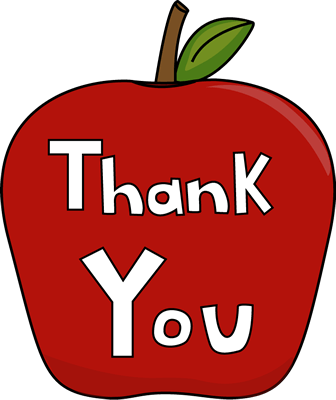 Give clipart teacher gift. Free for appreciation week