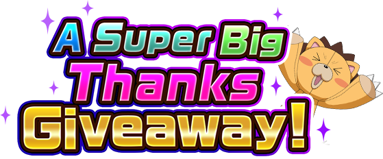 Giveaway drawing big. A super thanks bleach