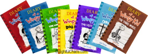 Giveaway drawing kid. Diary of a wimpy